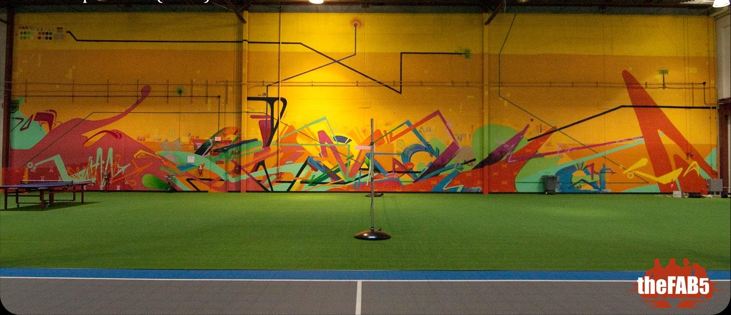 Graffiti wall tacoma - Fab 5 Ups The Ante With Fabitat