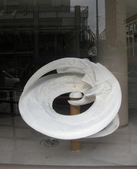Sculpture by Randy Cezan.