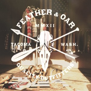 Feather & Oar Logo