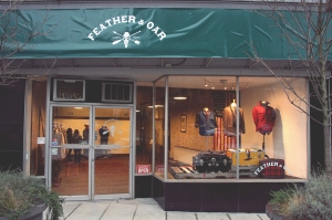 Feather & Oar Storefront