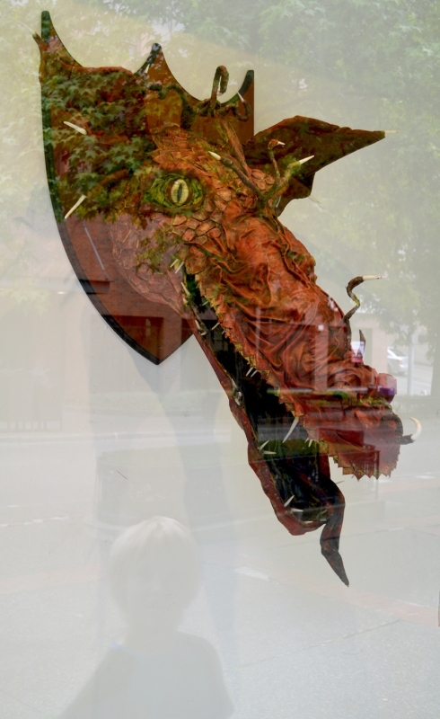 """""""Red Dragon"""" by Beth Johnson won """"Best of Show"""" in the 2011 National Arts Program (NAP)"""