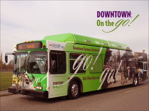 The transportation advocate for downtown Tacoma