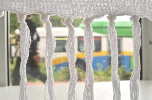 Cotton textiles woven by Priscilla Dobler