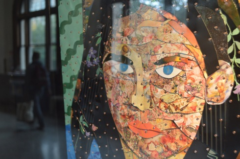 """Amanda Knox Recycled"" by Brett Carlson. Photo: Gabriel Brown"