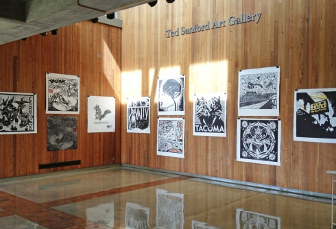 Ted Sanford Art Gallery at the Charles Wright Academy