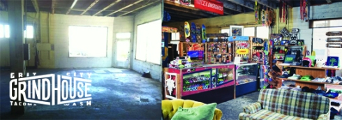 Grit City Grindhouse... BEFORE... and AFTER!