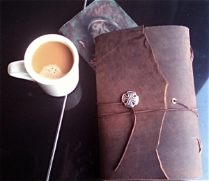 Leather journal by Rogue Friar. Photo: Gary Waldron