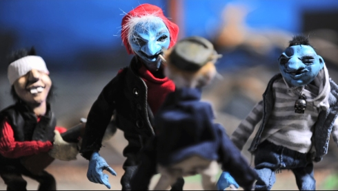 Puppets created by Puppet Master Jeremy Gregory.