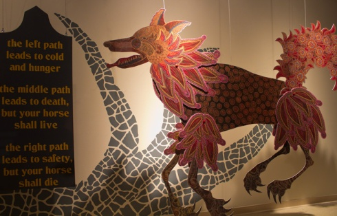 """A scene from """"The Firebird"""" by Tory Franklin. Photo courtesy of the artist"""