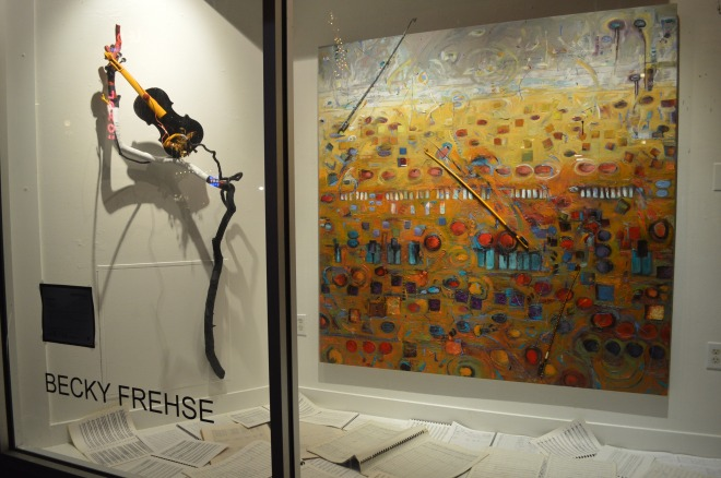 Becky Frehse's Woolworth installation