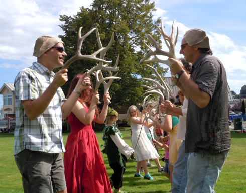Puget Sound Revels presents Abbots Bromliad. Photo provided by Puget Sound Revels.