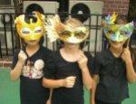 booth, TART, mask kids