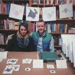 Tim + April raffles, giveaways and coloring sheets