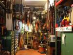 booth, tool library, tools