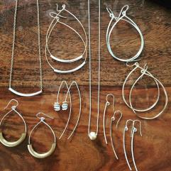 Locally crafted jewelry at Stocklist