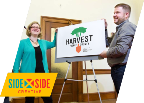 Mary Holste and Erik Hanberg of Side x Side Creative