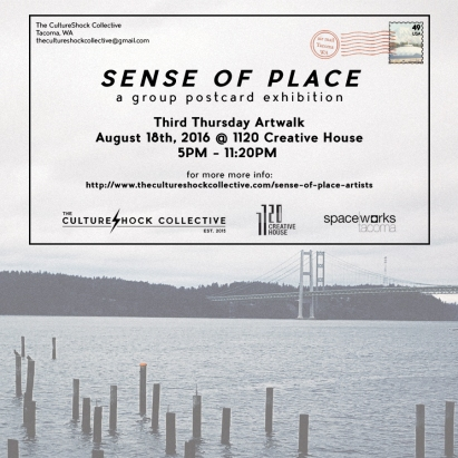 Sense of Place a Group Postcard Exhibition