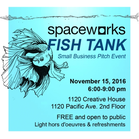 Spaceworks Fish Tank - Small Business Pitch Event by Tacoma Entrepreneurs
