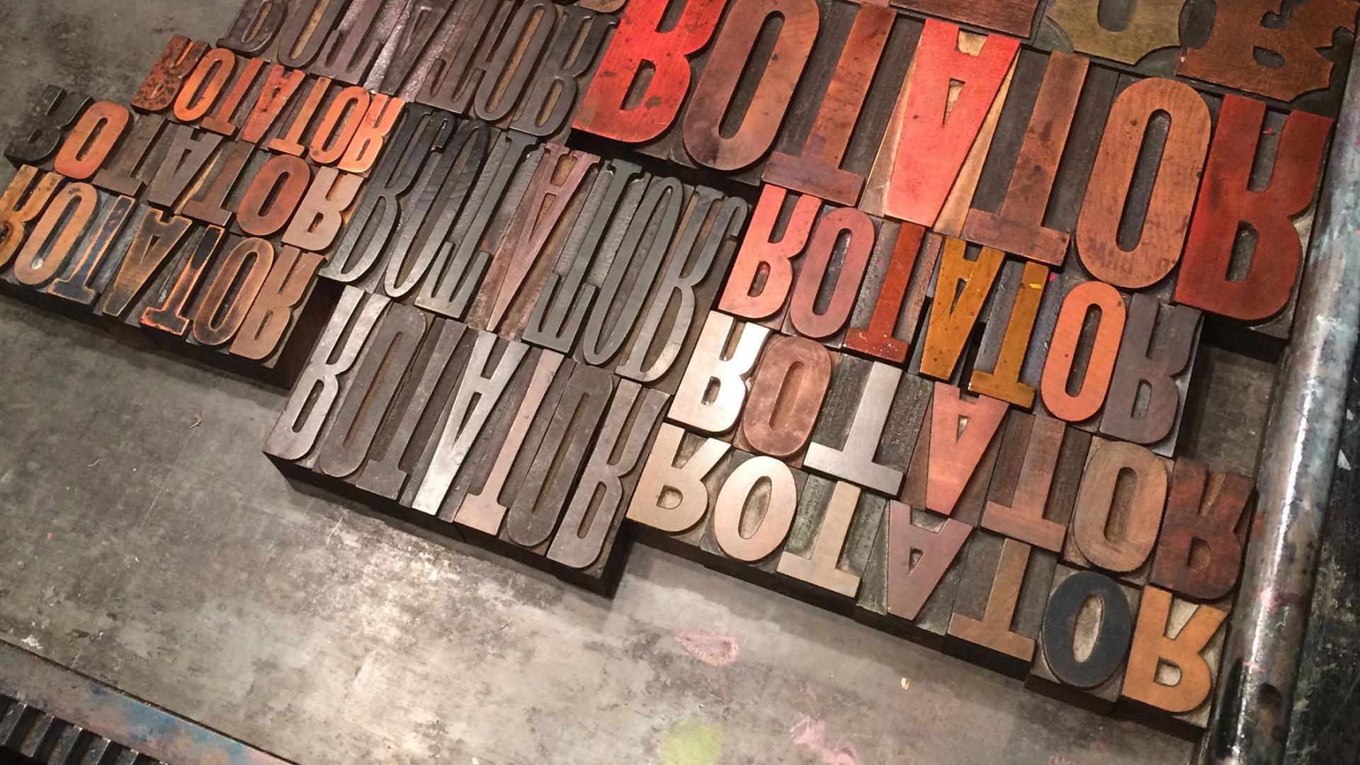 rotator-letterpress