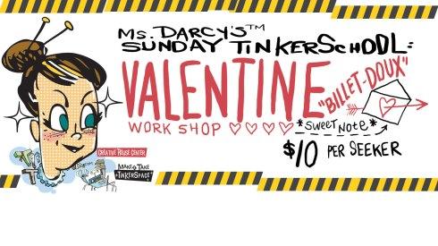 Ms Darcy's Sunday Tinkerschool Valentine