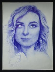Portrait of Amy Vaughn by Kristina Ward