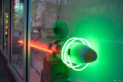 galen turner neon rocket artscapes