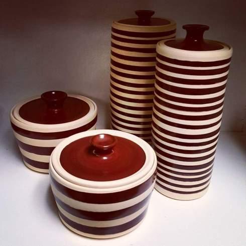 April Sanders pottery