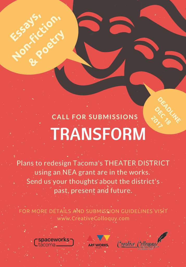 Creative Colloquy Submissions -Transform